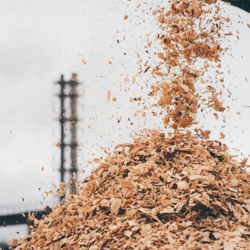 Sprzedaż zrębki drzewnej-biomasy