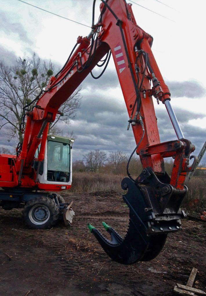 Maszyna do kopania ziemi